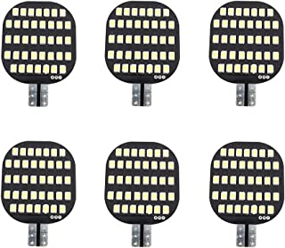 GRV T10 921 194 C921 LED Light Bulb 38-2835 SMD Super Bright Lamp DC 13V 2.5Watt for Car Boat RV Trailer Camper Motorhome Ceiling Dome Interior Lights Cool White Pack of 6