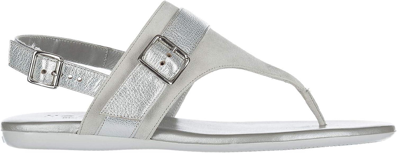 Hogan kvinnor T -bar Sandals silver Nebia Nebia Nebia  billig butik