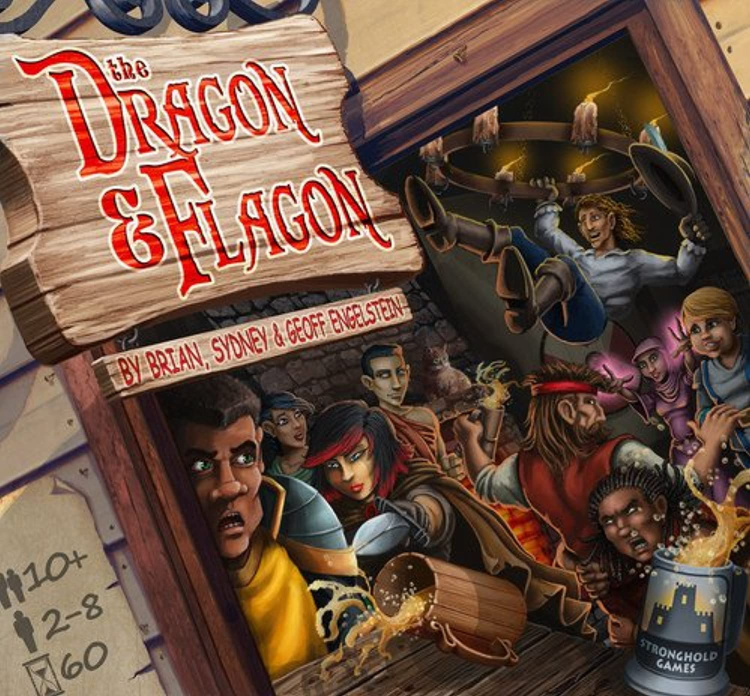 Stronghold Games STG02013 Dragon and Flagon Card Game