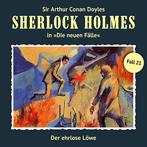 Der ehrlose Löwe audiobook cover art