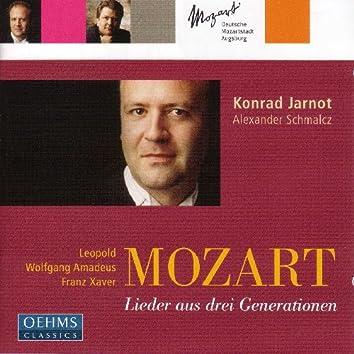 Mozart, L. / Mozart, W.A. / Mozart, F. / Baroni-Cavalcabo: Lieder From 3 Mozart Generations