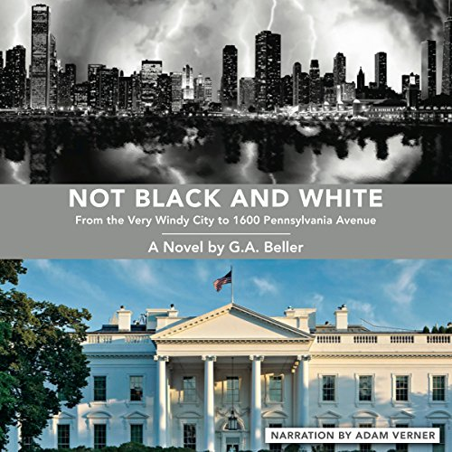 Not Black and White audiobook cover art