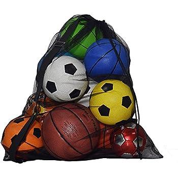 FILWS Sac De Rangement De Basketball Sac /à Bandouli/ère Portable Pliable Ballon De Football Football Sac /à Dos De Volleyball Grande Capacit/é Sac De Rangement en Cuir