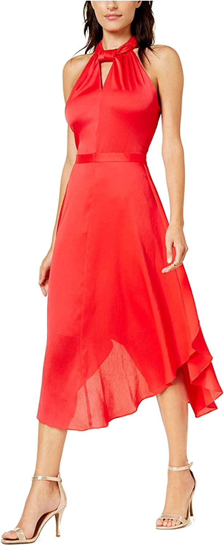 Rachel Roy Womens Twisted ALine Dress