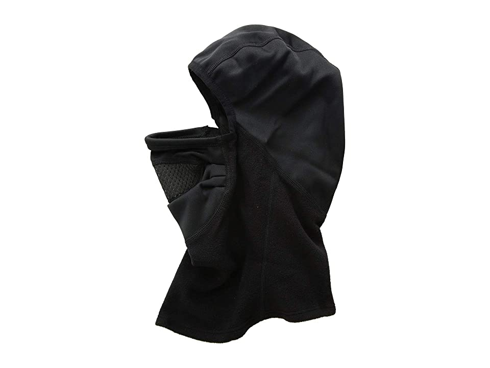 Hot Chillys Extreme Half Half Balaclava w/ Chil-Block Mask (Black/Black) Cold Weather Hats