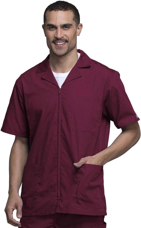 Workwear Originals Men Warm Up Scrubs Jacket Zip Front 4300