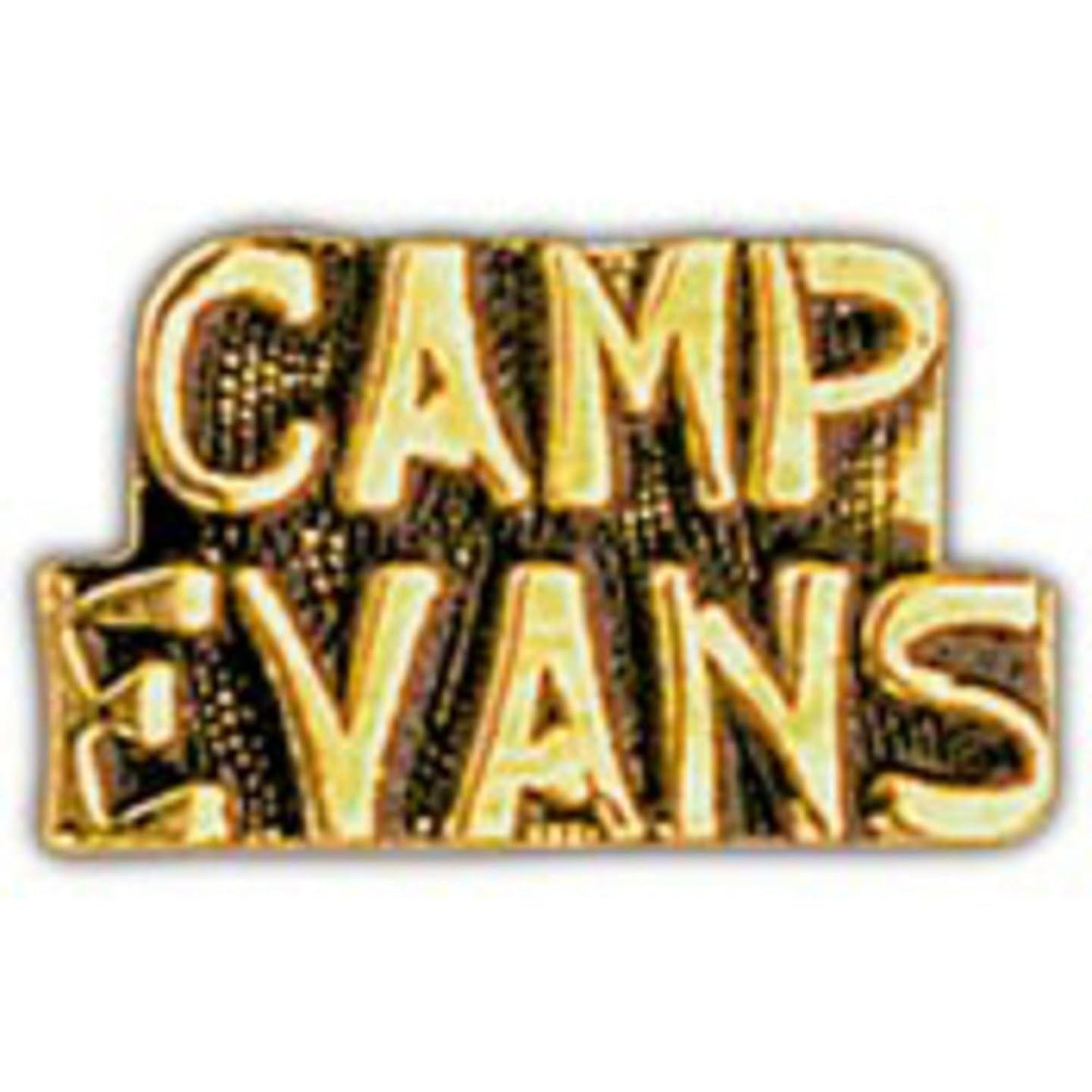 EagleEmblems P15200 Pin-Viet,Scr,Camp Evans (1'')