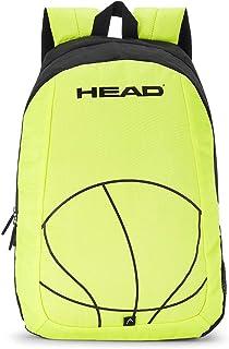 HEAD Dribble 20 Ltrs Lime Laptop Backpack (HD/DRI11BP)