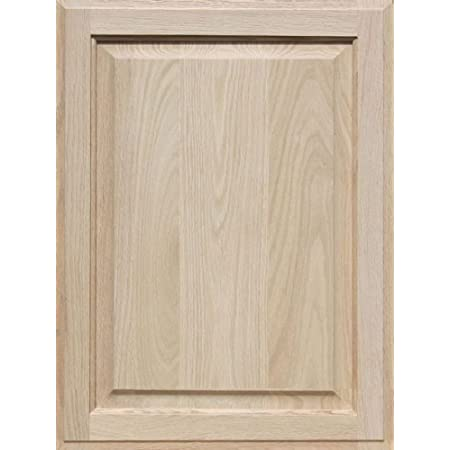 Unfinished Maple Cabinet Door Square with Raised Panel by Kendor 29H x 16W