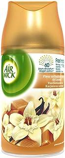 AIR WICK Lot de 3 Désodorisants Recharge Freshmatic Vanille & Caramel - 250 ml