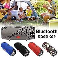 Bluetooth 4.2: connessione istantanea al tuo dispositivo, e questo fino a 10metri di distanza. Altoparlante portatile Bluetooth: lunga durata di lettura: batteria ricaricabile Li-ion 2200mAh integrata, goditi la musica in qualsiasi momento, ovunque...