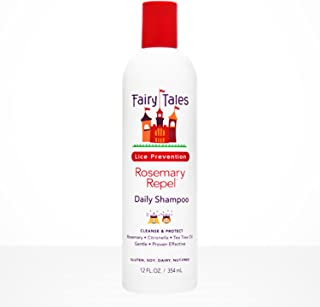 Fairy Tales Rosemary Repel Daily Kid Shampoo for Lice Prevention, 12 Fl Oz (Pack of 1)