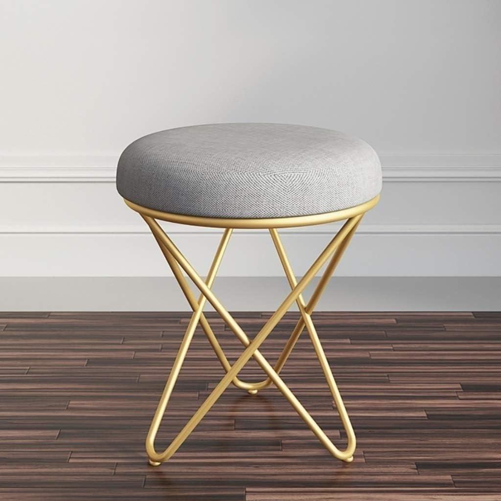 Kylinyyz Chaise d'appoint pour Chaise de Salle de séjour/Bureau à la Maison de Bureau à la Maison Siège rembourré de Velours doré Moderne (Color : Green) Blue