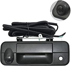Toyota Tundra Rear View Camera Backup Tailgate Handle Camera Vehicle Specific Camera for Toyota Tundra(2007 2008 2009 2010 2011 2012 2013),Tailgate Door Handle Replacement Camera(Color: Black)