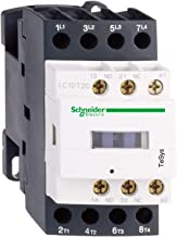 Schneider Electric LC1DT25M7 , Contactor, Non-Reversing, 220VAC Coil, 25A, 4-Pole, DIN Rail, TeSys D