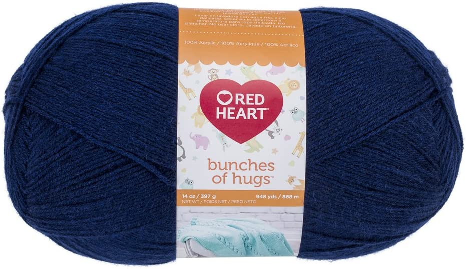 Red Heart 2021 Limited time sale Bunches of Sapphire Yarn Hugs