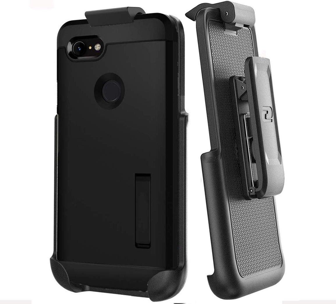Encased Belt Clip Holster Compatible with Spigen Tough Armor Case - Google Pixel 3 XL (case not Included)