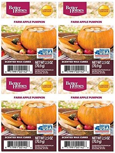 Better Homes and Gardens Farm Apple Pumpkin Wax Cubes - 4-Pack