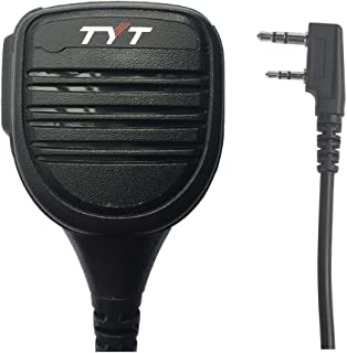TYT Platinum Series Rainproof Heavy Duty Shoulder Remote Speaker Mic for MD-380 MD-UV380 UV8000E Kenwood TK-2202 TK-248 Baofeng Btech radios,Microphone