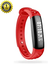 MevoFit Slim HR Smart-Fitness-Band-Watch for Women: Sleek & Stylish Activity Tracker, Period, Ovulation, Heart Rate