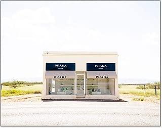 Prada Marfa 5x7 inch Photography Print Fashion Home Decor Texas Desert Wall Art