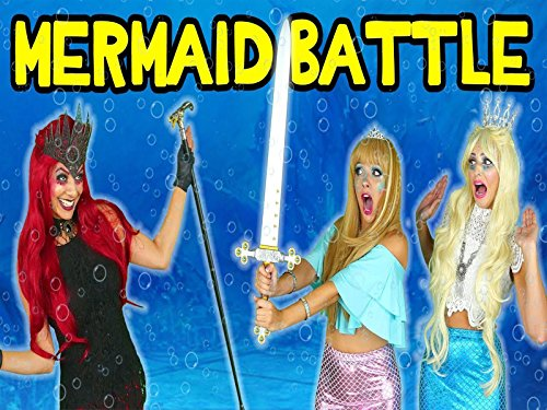 Mermaids vs. Sea Witch. Tails of the Blue: Mermaid Squad Saves the Day: Episode 2