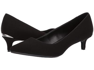 Calvin Klein Gabrianna Pump (Black Stretch) Women