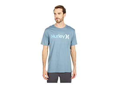 Hurley One Only Gradient 2.0 Short Sleeve Tee (Ozone Blue/Baltic Blue) Men