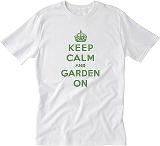Winchester Gardens Keep Calm and Garden on T-Shirt