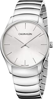 Calvin Klein Classic Too K4D21146 Stainless Steel Analog Dress Watch for Men