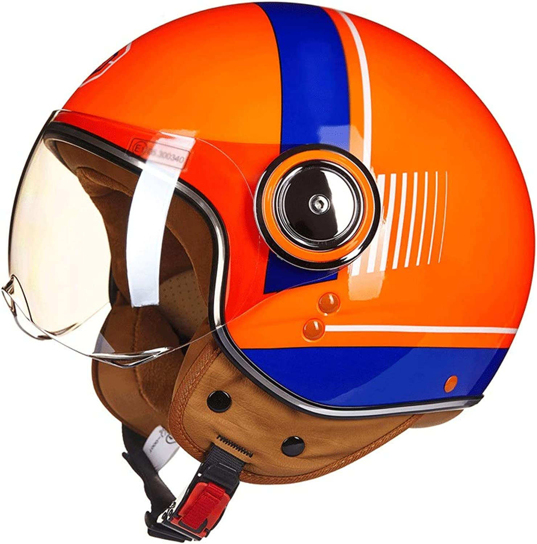 RMXMY Fashion Lightweight Bike Helmet,Cycle Helmet Adjustable for Adult Men's and Women's Four Seasons Universal HalfCovered Half Helmet (color   B, Size   M)