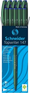 Schneider Topwriter 147 Pens Color : Blue, 10 Pieces Item Weight 118 g Package Dimensions 6.1 x 2.4 x 1.5 inches Shipping ...