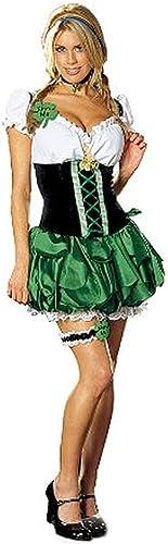 opciones a bajo precio DreamGirl Sexy Maid St. Patricks Patricks Patricks Day Good Luck Charm Costume Adult Small  hermoso