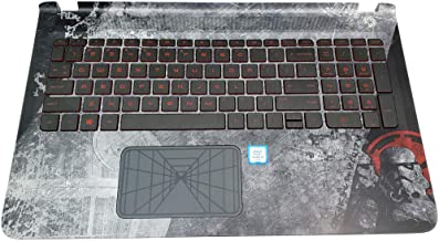 HP Pavilion Star WAR 15-an 15T-AB Keyboard PALMREST TOUCHPAD Assembly 836099-001
