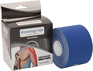 Voorgesneden Elastische Therapeutische Sports Tapes for knie schouder en elleboog, Elastisch ademend Verband van zelfkleve...