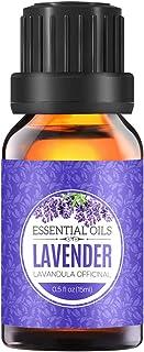 Homasy 15ml Aceite Esencial de Lavanda 100% Puro, Aceite