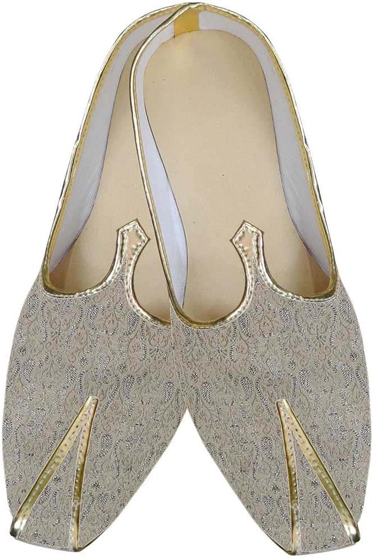 INMONARCH Herren Beige Schuhe Designer Hochzeit MJ0108 MJ0108 MJ0108  16f08f