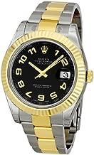 Rolex Datejust II Two-tone Oyster Bracelet Mens Watch 116333BKAO