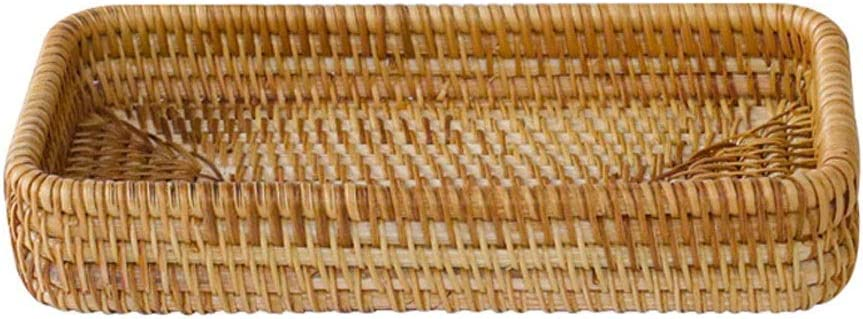 pot Rattan Hand-Woven Baskets Perfe Trays Fruit OFFicial mail Limited time for free shipping order Bread