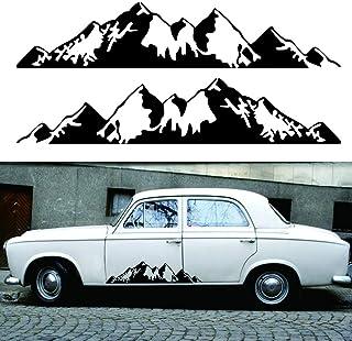 CADANIA 48 34 cm Off-Road Br/újula Etiqueta engomada del Coche Rose Navigate Vinyl Sticker Decal Car Truck Auto Laptop Car Door y Hood White