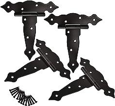 SCSY SSB-JIAJUPJ 4 stuks in de vorm van een bloemscharnier met kogellagers met sleuven, 15,2 cm (6 inch), deurscharnier va...