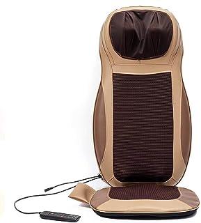 YourBoob Masaje eléctrico de amasamiento de Espalda Completa y Masaje de balanceo para Espalda Calentamiento de Cuello de Hombro Vibrante Masajeador de Espalda Cojín de Silla