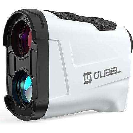 OUBEL Telemetro Golf, 1200/800 Yard Telemetro Caza, 6 X & 4 Modes, Bloqueo del Poste de La Bandera, Vibración, Modo de Escaneo, Rastreo de Presas, Telémetro Láser de Golf de con inclinación
