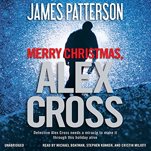 Merry Christmas, Alex Cross cover art