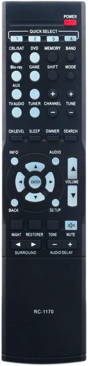 RC-1170 Replacement Remote Control Applicable Denon AV 5 popular Special price for a limited time Recei for