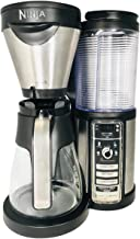 Ninja Coffee Bar Auto-iQ One-Touch Intelligence Brewer Maker Machine with 43 oz Glass Carafe CF080Q Thermal Flavor Extraction for Warm, Hot and Cold Beverages (Renewed)