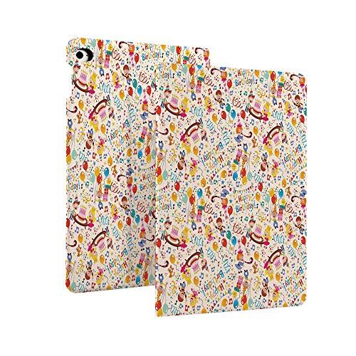 Verjaardag Decoraties voor Kids Case voor Nieuwe iPad 7e Generatie 10.2