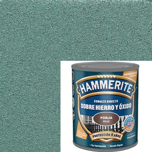 HAMMERITE - Esmalte Antioxido Forja Verde Hammerite 750 Ml