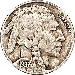 1937 D Buffalo Nickels 3 Legged Nickel VF30 PCGS