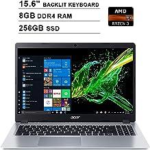 2020 Acer Aspire 5 15.6 Inch FHD 1080P Laptop (AMD Ryzen 3 3200U up to 3.5 GHz, 8GB DDR4 RAM, 256GB SSD, AMD Radeon Vega 3...
